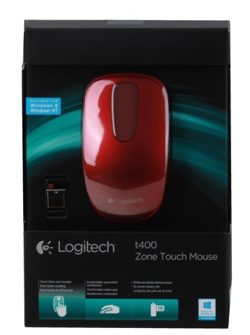 LOGITECH T400 Touch Red Velvet [89392]