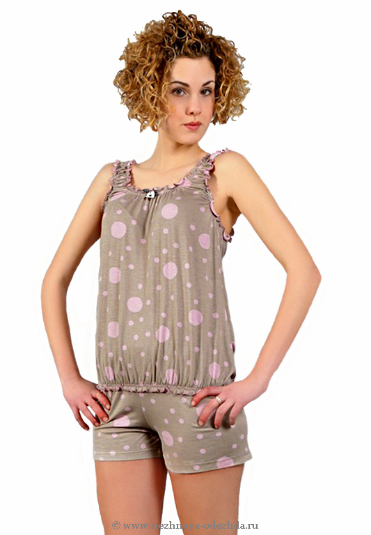 Пижама с шортами Pepita