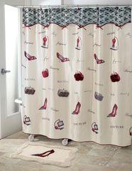 Шторка для ванной 183x183 Avanti Flirty
