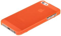 Чехол пластиковый для iPhone 5 / 5S ENSI накладка ОРАНЖЕВЫЙ