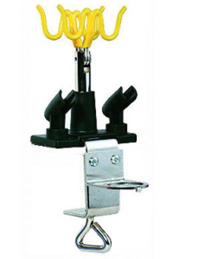 Подставка для 4х аэрографов металлическая струбцина (JAS)