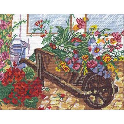 Цветочная тележка 52-02