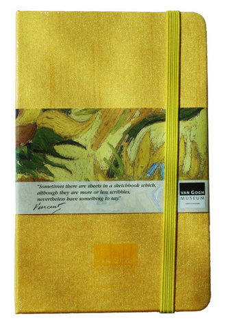 Van Gogh Sketchbook Gold