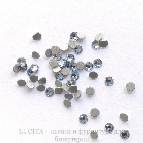 2058 Стразы Сваровски холодной фиксации Light Sapphire ss 5 (1,8-1,9 мм), 20 штук ()