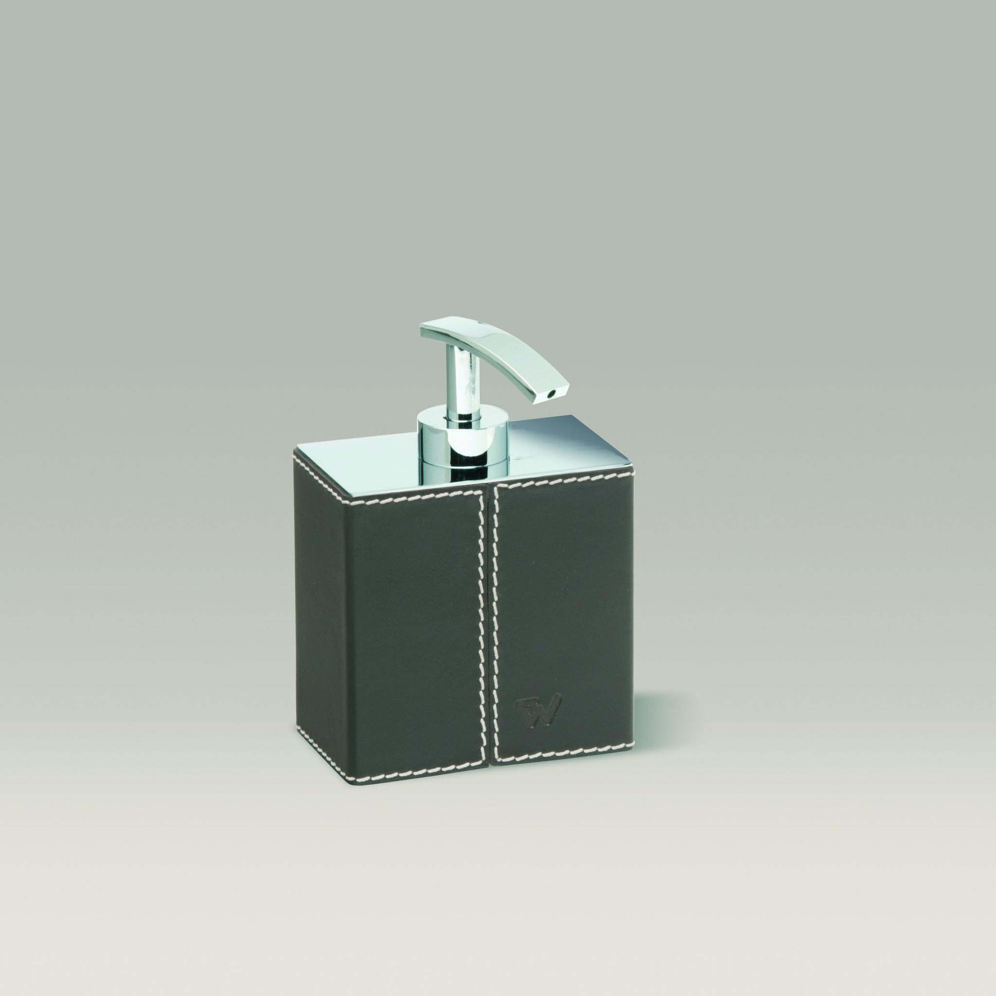 Дозаторы для мыла Дозатор настольный Windisch 90101R Kenia dispenser-nastolnyy-90101-kenia-ot-windisch-ispaniya-chernyy.jpg