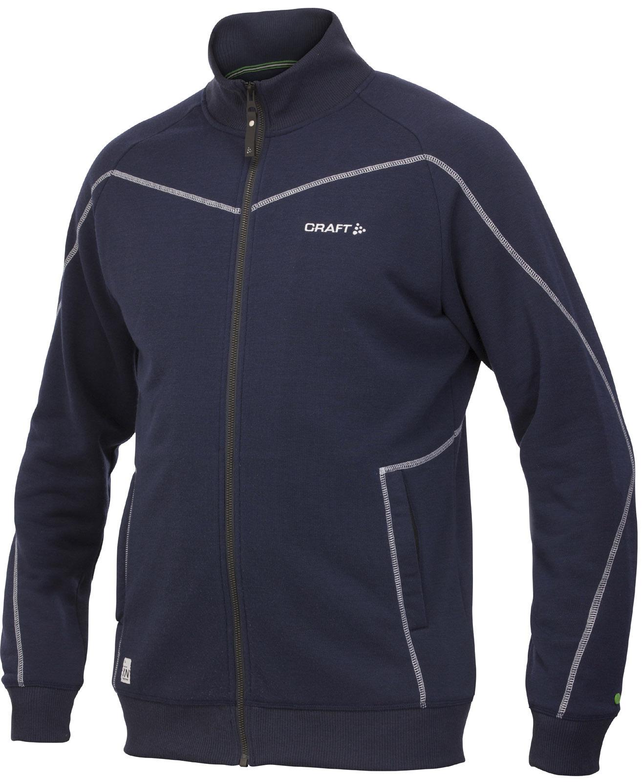 Мужская флисовая куртка Craft In the Zone синяя (1902636-2395)