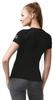 Термофутболка из шерсти мериноса Norveg Soft Black женская