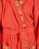 Элитный халат махровый Yupi красный от Caleffi