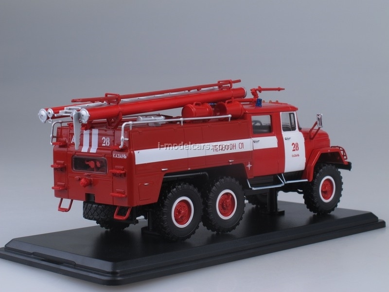 ZIL-131 AC-40 137 Fire Engine Kazan 1:43 Start Scale Models (SSM)