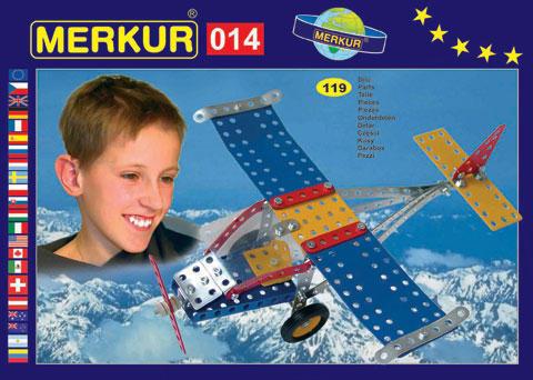Merkur M-014 Металлический конструктор Аэроплан