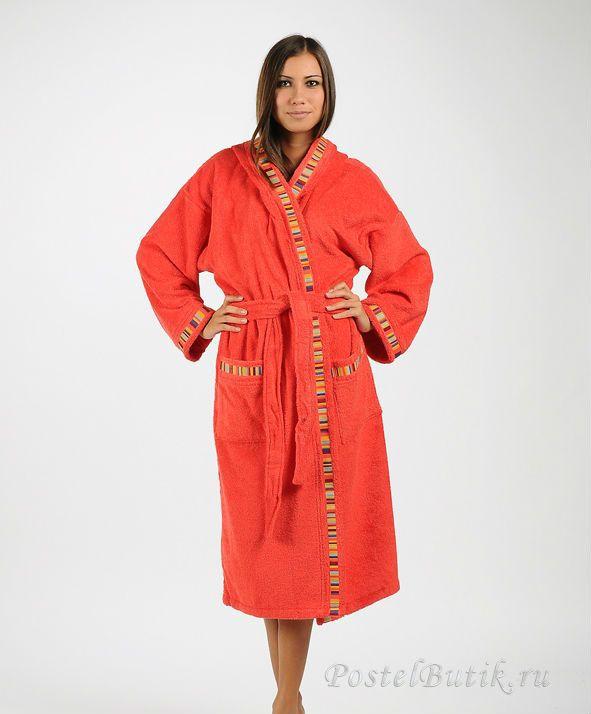 Халаты Элитный халат махровый Yupi красный от Caleffi elitniy-halat-mahroviy-yupi-krasniy-ot-caleffi-italiya.jpg