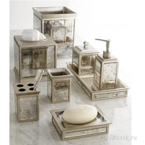 Подставка для предметов Palazzo Vintage Mirror от Kassatex