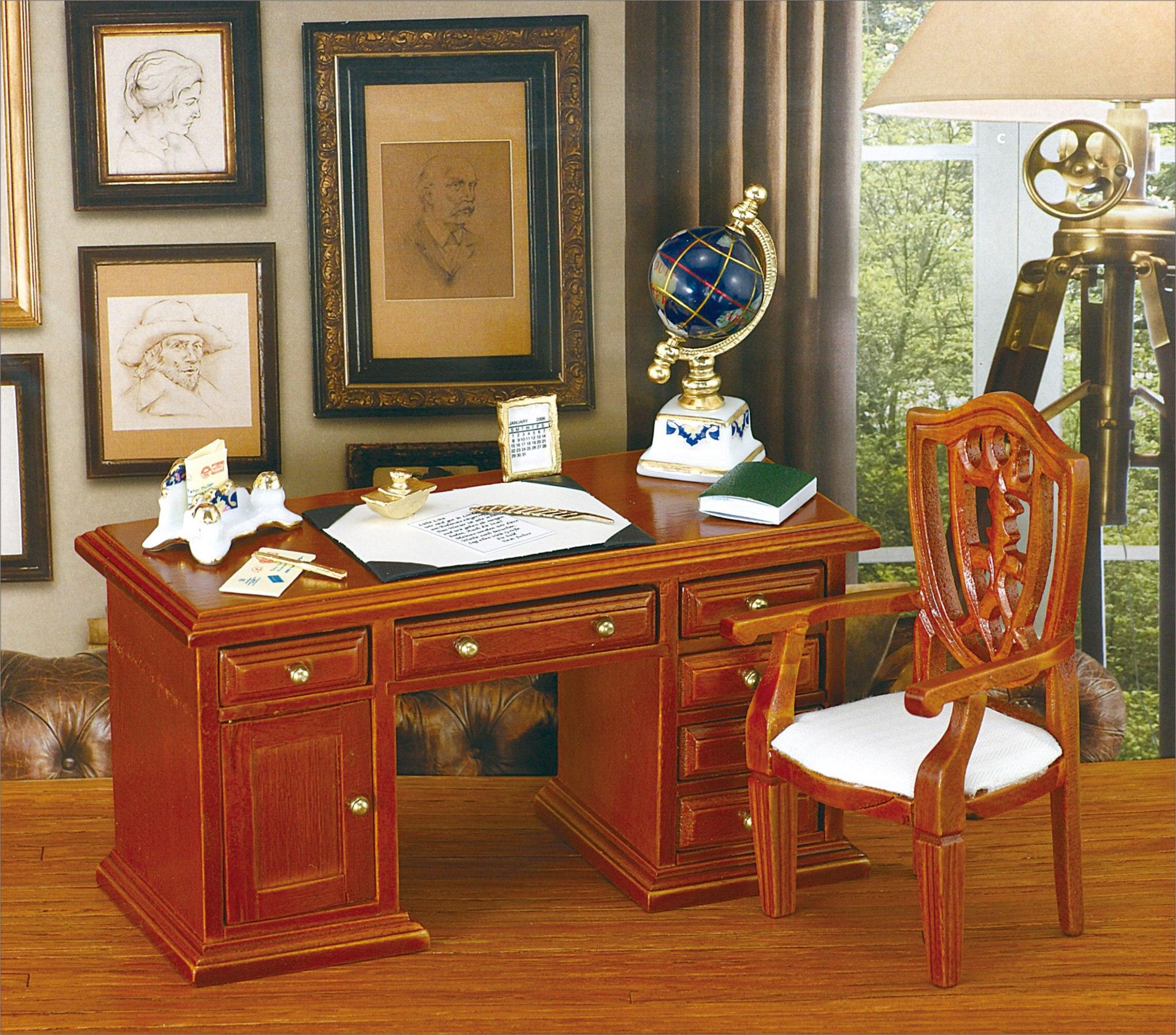 Письменный стол -- reutter porzellan -- арт... / рукоделие /.