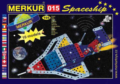 Merkur M-015 Мет.аллический конструктор Космический корабль