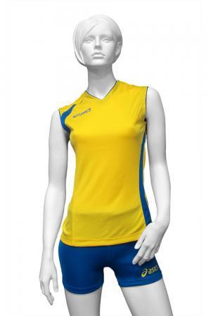 Женская волейбольная форма ASICS SET FLY LADY желтая (T226Z1 QV43) фото