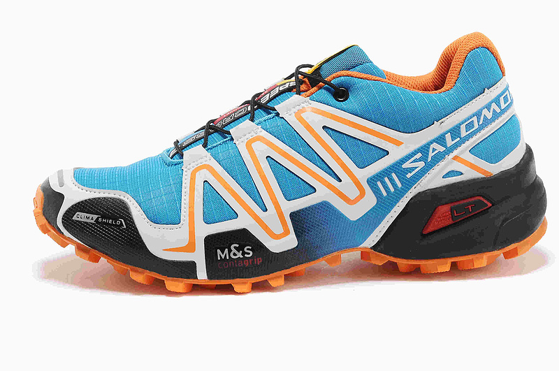 Кроссовки Salomon Speedcross 3 blue orange