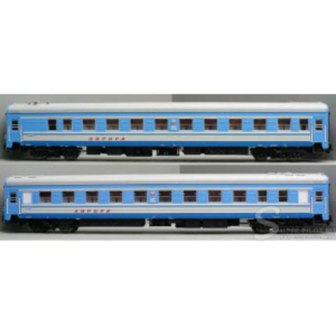 Eurotrain 0213  Набор пассажирских вагонов ЦМВ СССР