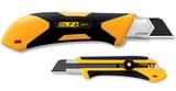 Нож XH-1 с выдвижным лезвием, двухкомпонентный корпус, трещоточный фиксатор, 25мм