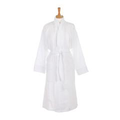 Элитный халат-кимоно велюровый Zebrona белый от Roberto Cavalli