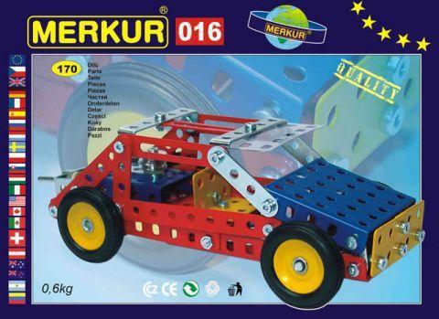 Merkur M-016 Металлический конструктор Джип