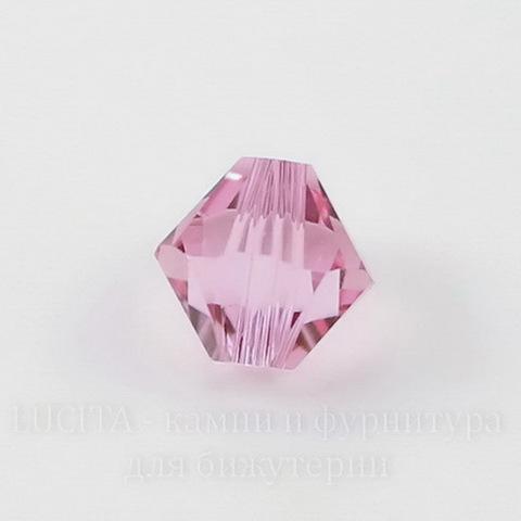 5328 Бусина - биконус Сваровски Light Rose 3 мм, 10 штук ()