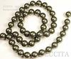 5810 Хрустальный жемчуг Сваровски Crystal Dark Green круглый 10 мм