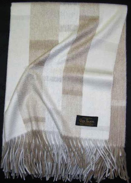 Пледы Плед 130х180 Eccentric White от Glen Saxon белый elitniy-kashemiroviy-pled-Eccentric-glen-saxon-1.jpg