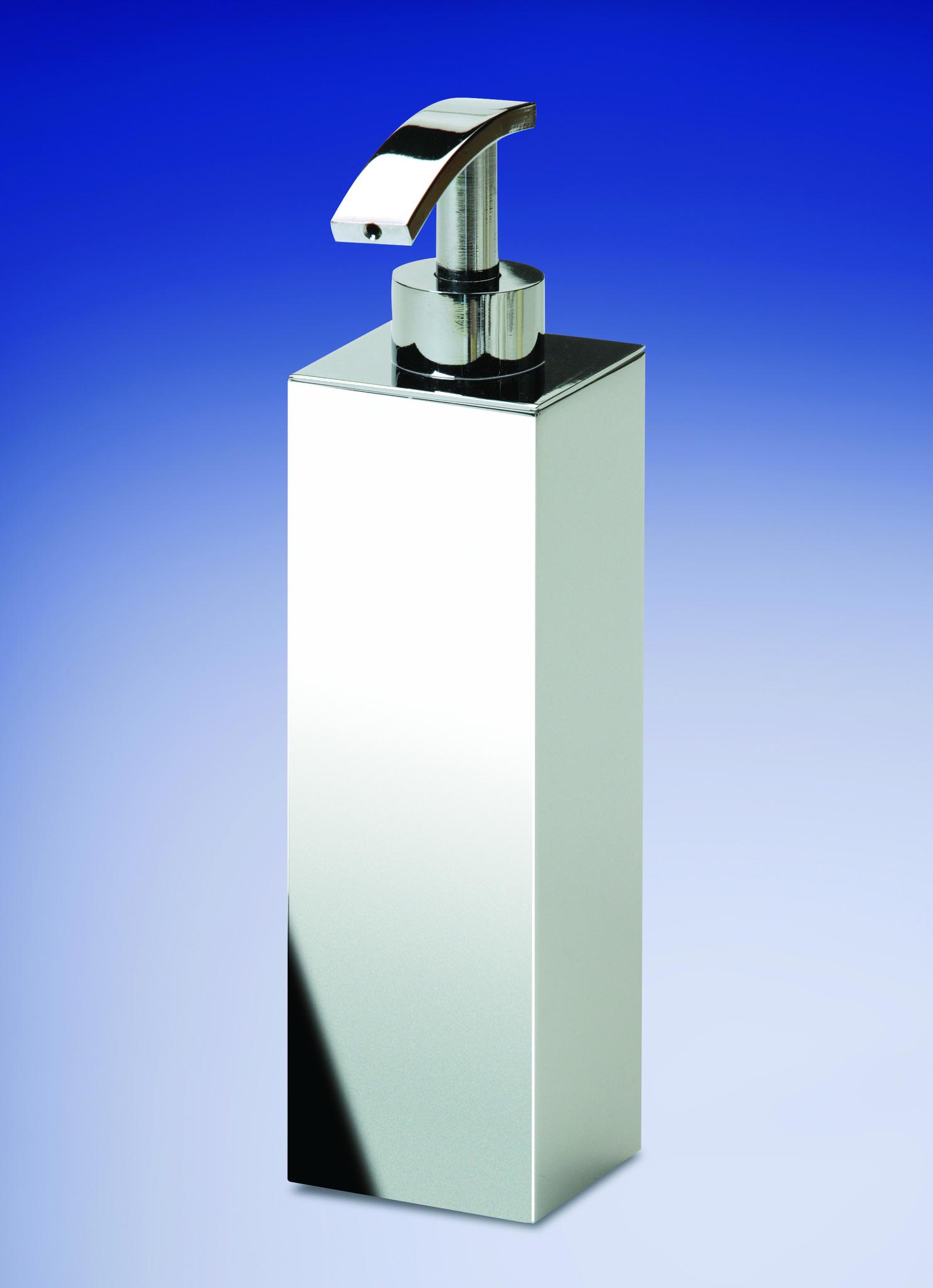 Дозаторы для мыла Дозатор настольный Windisch 90102CR Metal Lineal dispenser-nastolnyy-90102-metal-lineal-ot-windisch-ispaniya.jpg