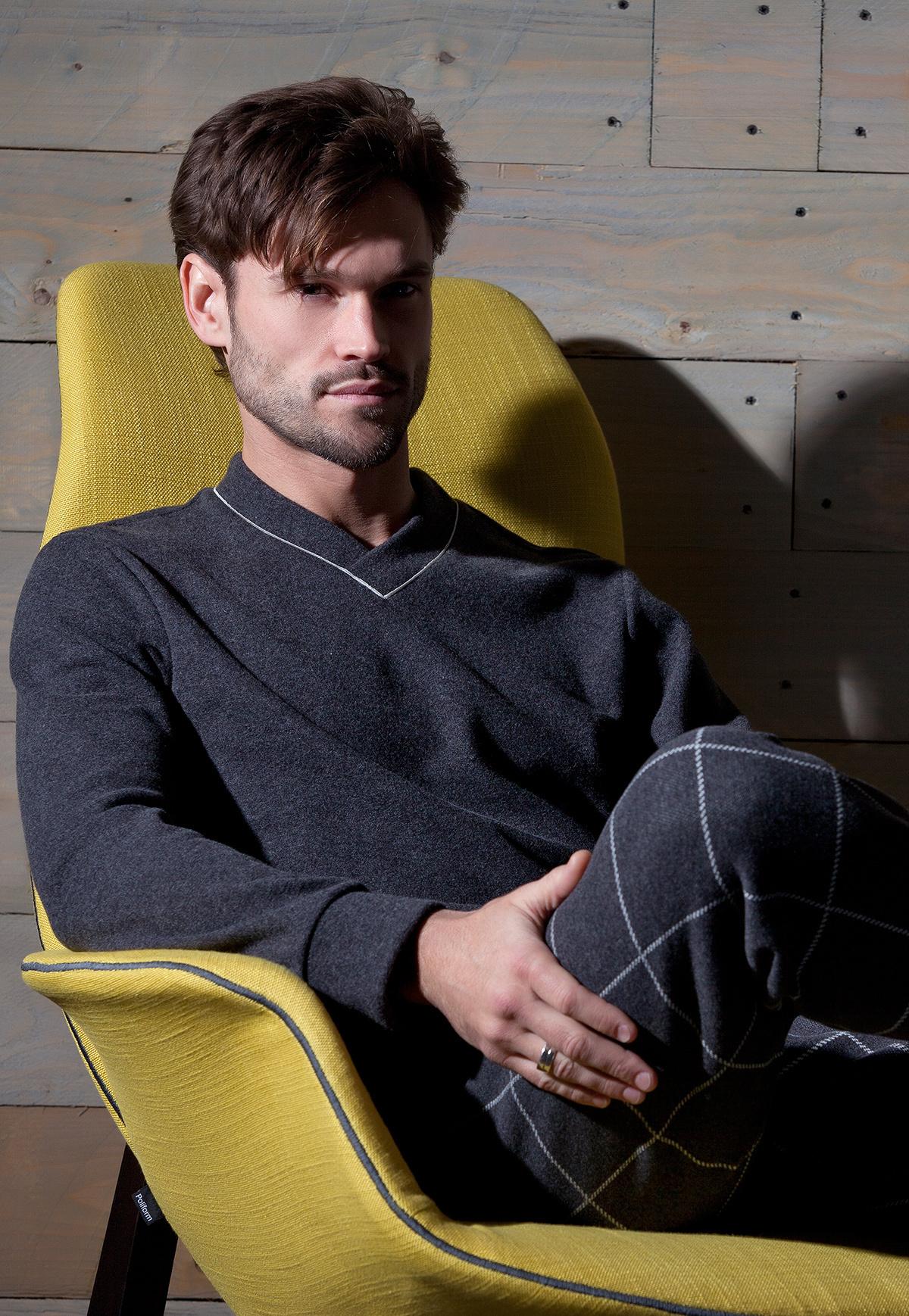 Теплая мужская домашняя одежда Verdiani