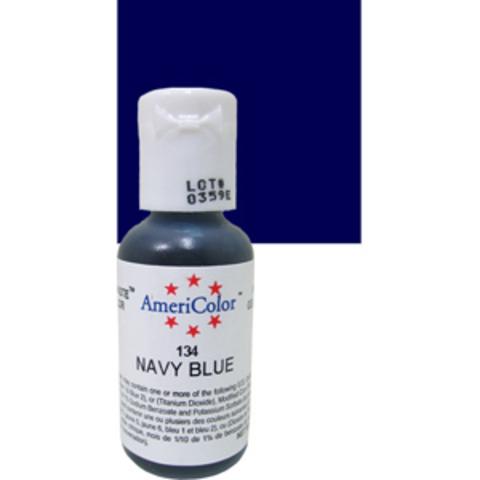 Краска краситель гелевый NAVY BLUE 134, 21 гр