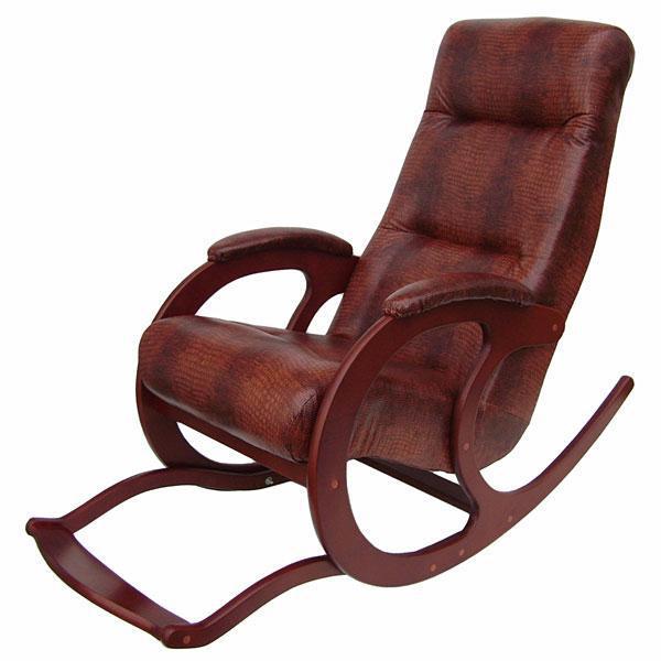 Деревянные Кресло-качалка Блюз 5 Экокожа 017.005.JPG