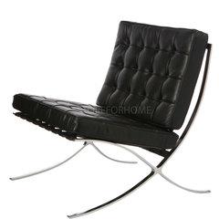 Кресло Barcelona, натуральная кожа