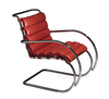 кресло mr side armchair (кожа)