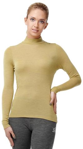Терморубашка Norveg Wool+Silk женская фисташковая