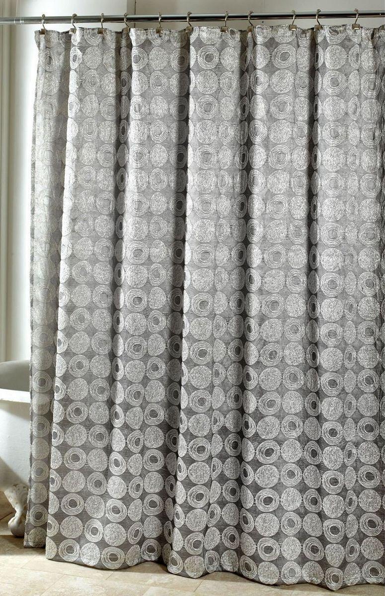 Элитная шторка для ванной Galaxy Silver серая от Avanti
