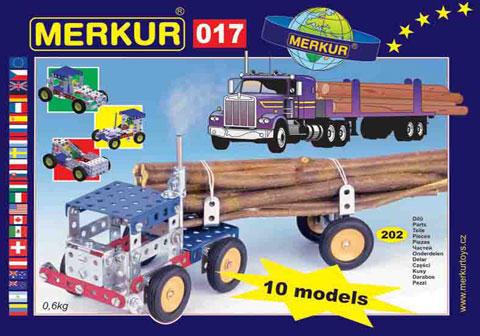 Merkur M-017 Металлический конструктор Трак