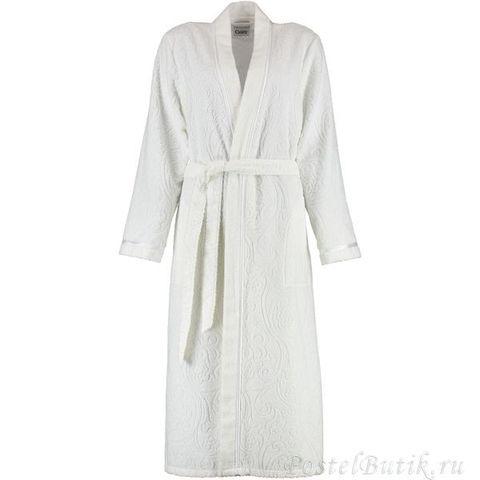 Элитный халат махровый 7131 белый от Cawo