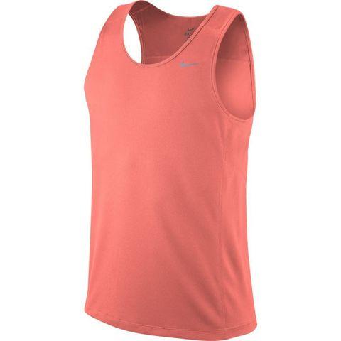 Майка л/а Nike Miler Singlet розовая