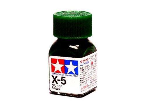 X-5 Краска Tamiya Зеленая Глянцевая (Green), эмаль 10мл