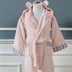 Халат детский махровый Casual Avenue Sophie розовый