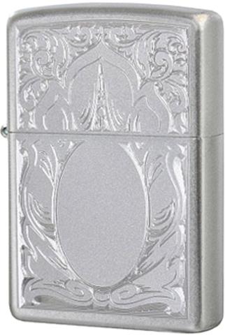 Купить Зажигалка Zippo Scrolled Mirror, Satin Chrome™ 21137 по доступной цене