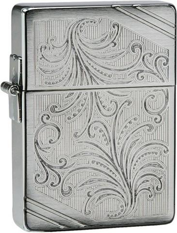 Купить Зажигалка Zippo 1935 Replica Luxury №35, Brushed Chrome 24944 по доступной цене