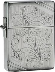 Зажигалка Zippo 1935 Replica Luxury №35, Brushed Chrome 24944
