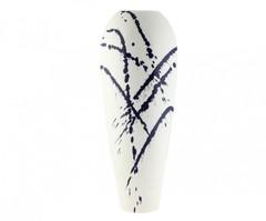 Элитная ваза декоративная Abstraction овальная большая от S. Bernardo