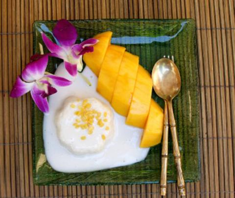 тайский десерт рис с манго рецепт