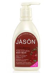 Антиоксидантный гель для душа с клюквой, Jason