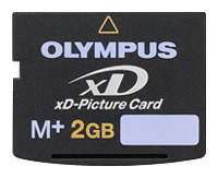 Карта памяти XD-2Gb Olympus xD-Picture Card M-XD2GP