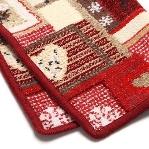 Полотенце 50x100 Feiler Winter magik красное