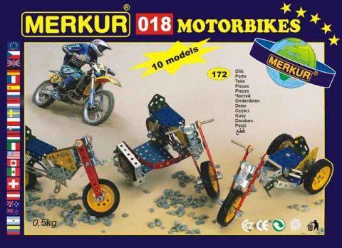 Merkur M-018 Металлический конструктор Мотоциклы