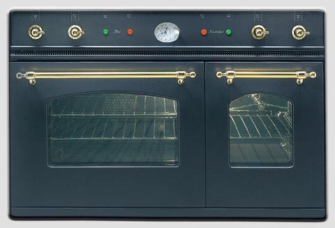 Газовый независимый духовой шкаф ILVE D 900 NVG M графит